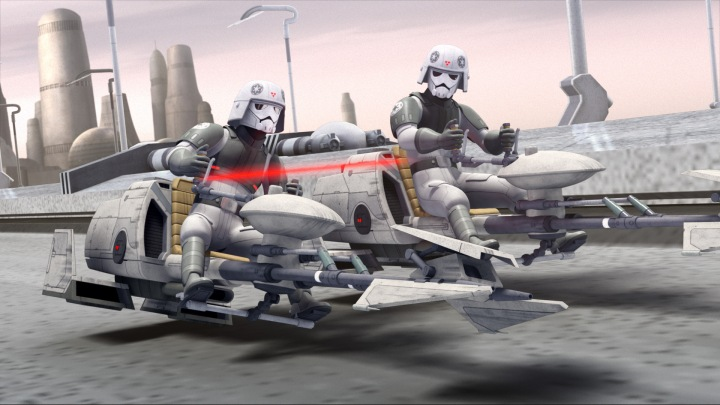 A new kind of trooper first seen in Star Wars Rebels
