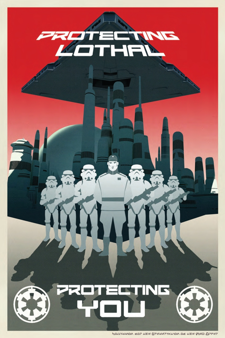 Propaganda art for the Empire