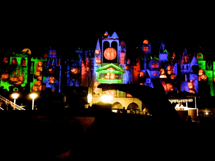 Even It's A Small World was decked out in Halloween themes