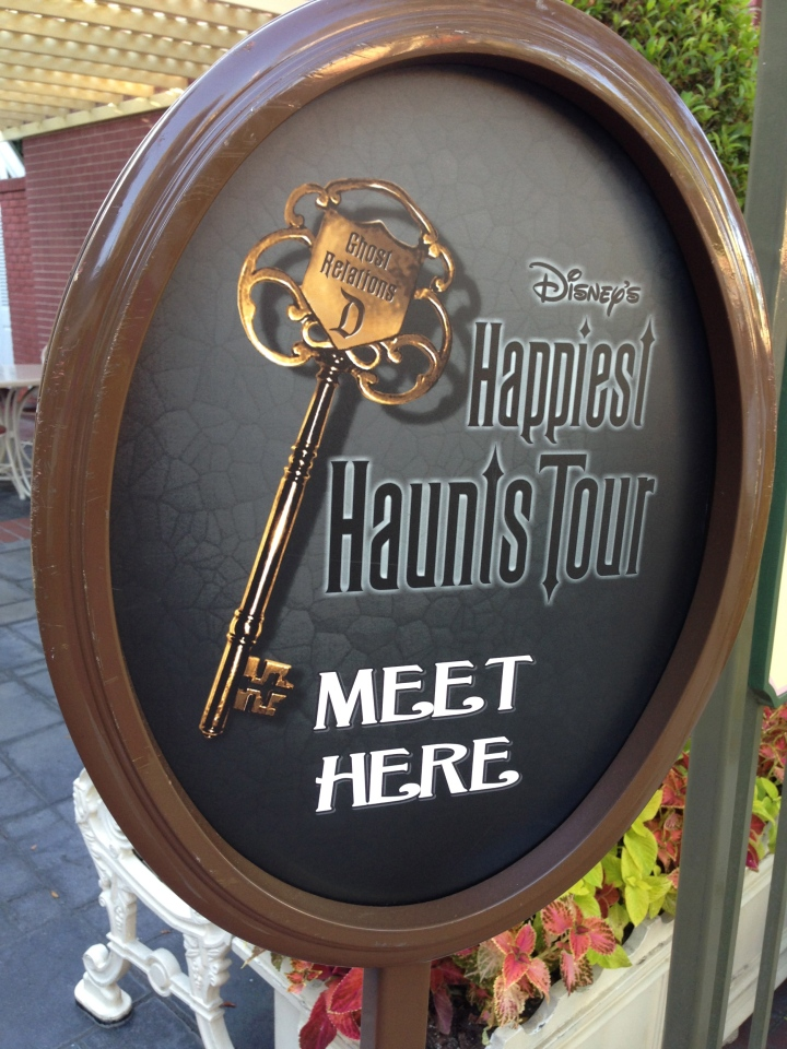 Beginning of the Happiest Haunts Tour