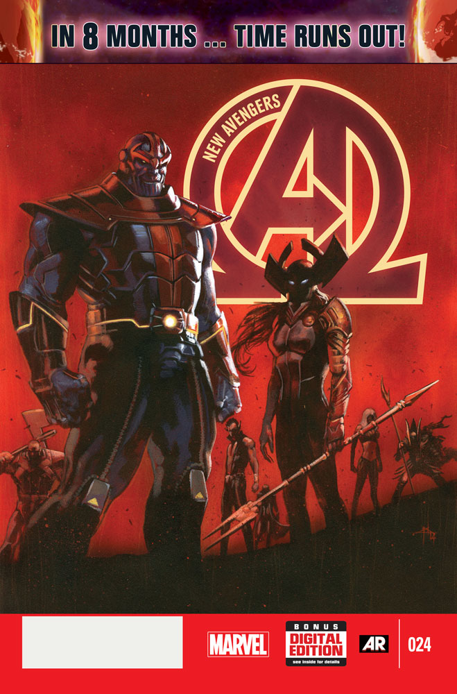 Cover for New Avengers #24 and the machinations of the Cabal