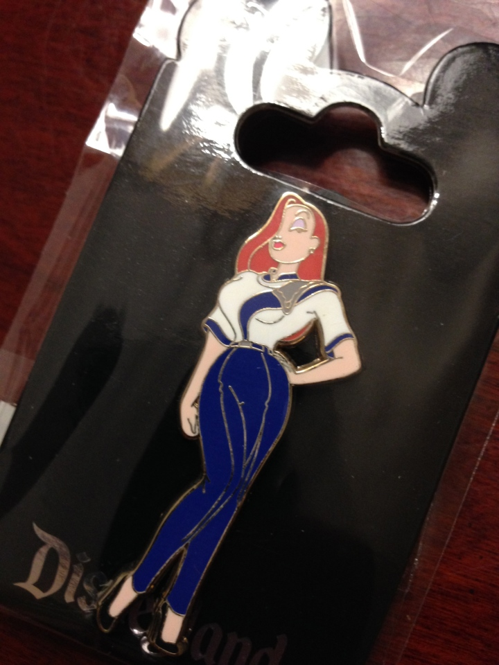 Jessica Rabbit in Disneyland cast member costumes LE 150