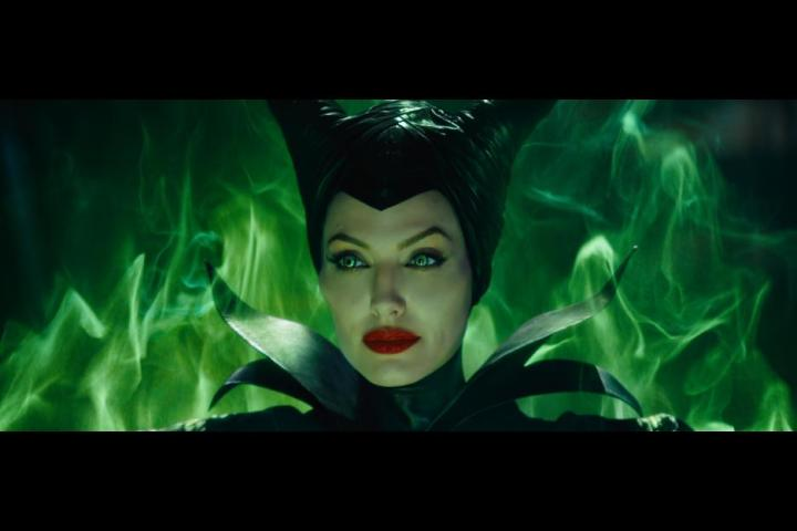 Maleficent as played by Angelina Jolie