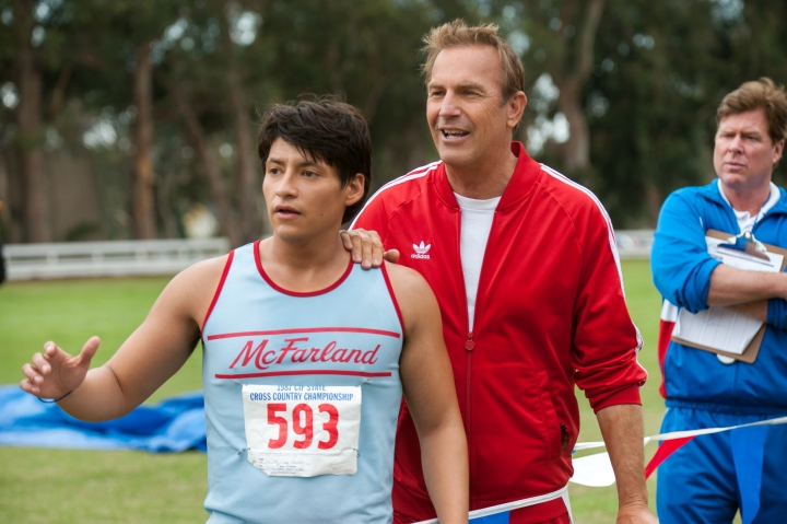 Kevin Costner playing Jim White in McFarland USA