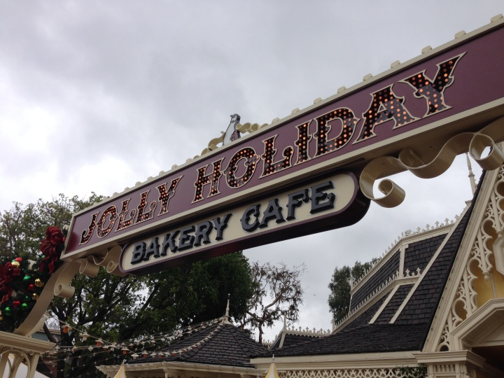Jolly Holiday - the best spot to watch the world go by at Disneyland