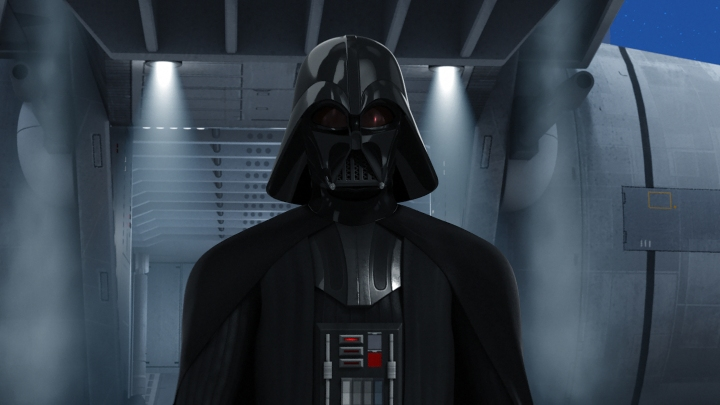 The one and only Darth Vader makes appearances in both the first and last episodes of Season 1