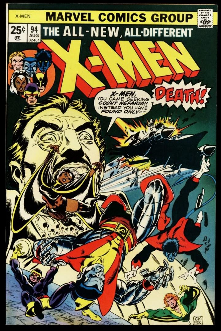 The landmark Uncanny X-Men #94