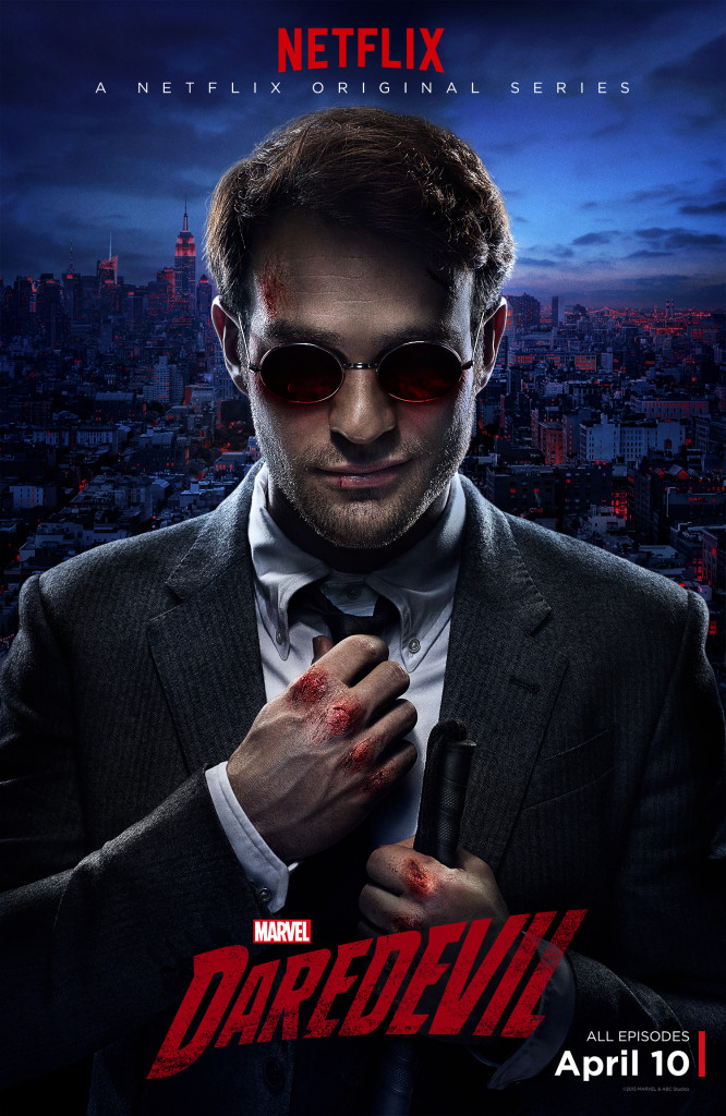 Charlie Cox plays a convincing Matt Murdock in Marvel's Daredevil on Netflix