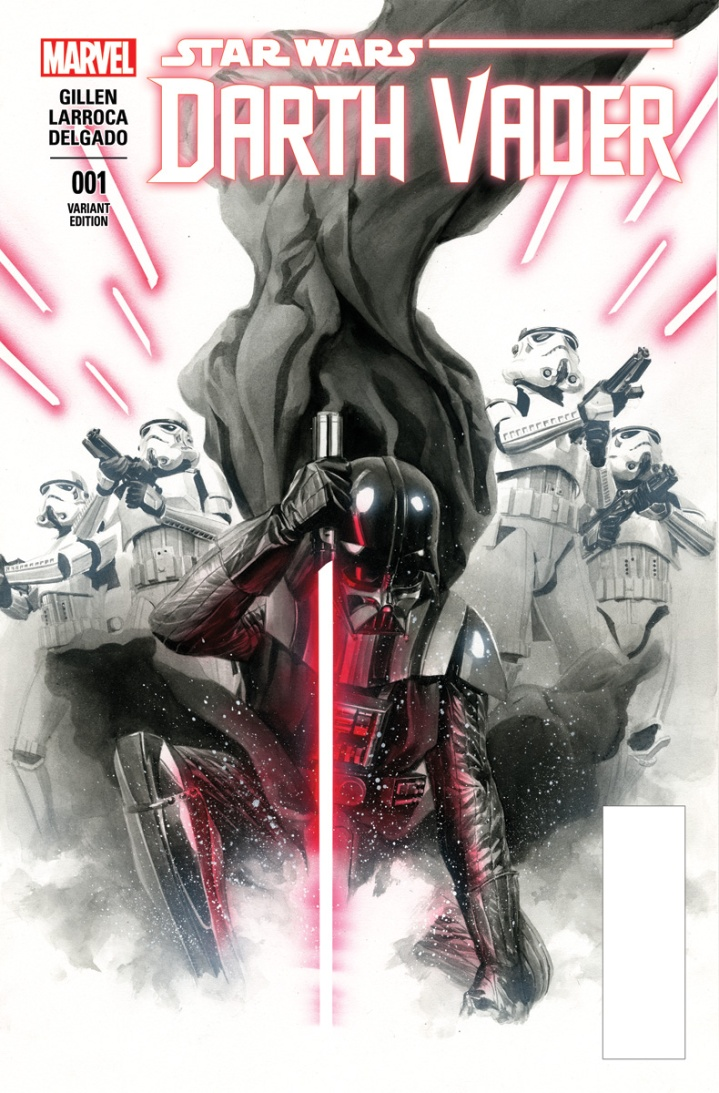 Alternate cover to Darth Vader #1