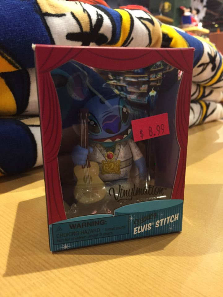 Vinylmation Elvis Stitch from the Las Vegas Disney Store