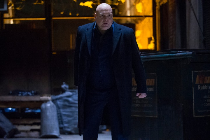 Vincent D'Onofrio as Wilson Fisk - an imposing figure to say the least