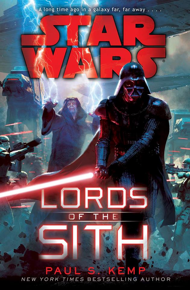 Cover to the newest Star Wars book, Lords of the Sith