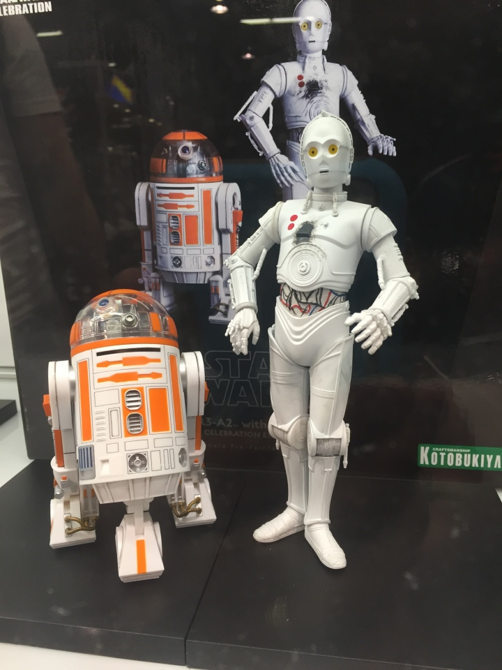 Exclusive figurines from Kotobukiya only at SWCA 2015