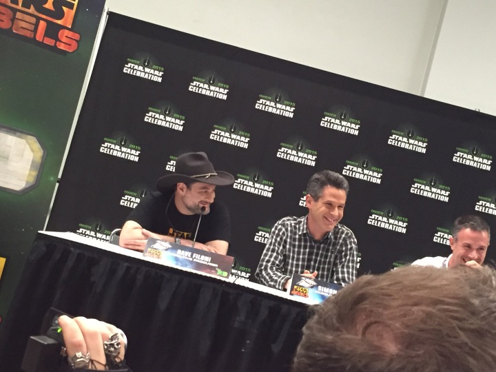 Dave Filoni and Simon Kinberg
