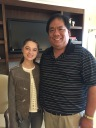 Raffey Cassidy gracious to share her thoughts about Tomorrowland and life with me