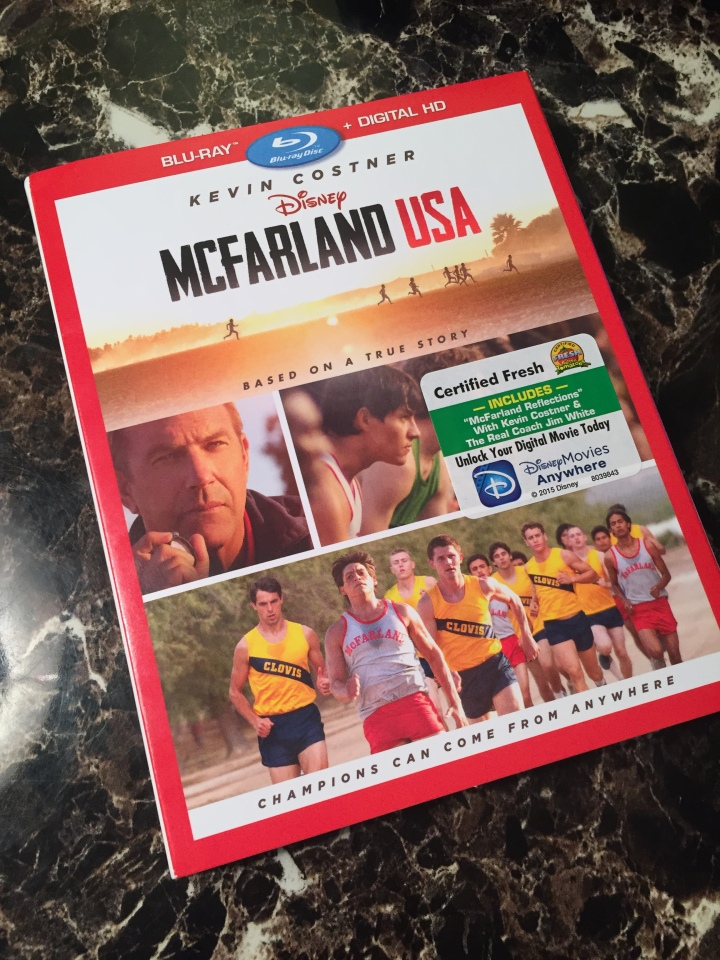McFarland USA on BluRay