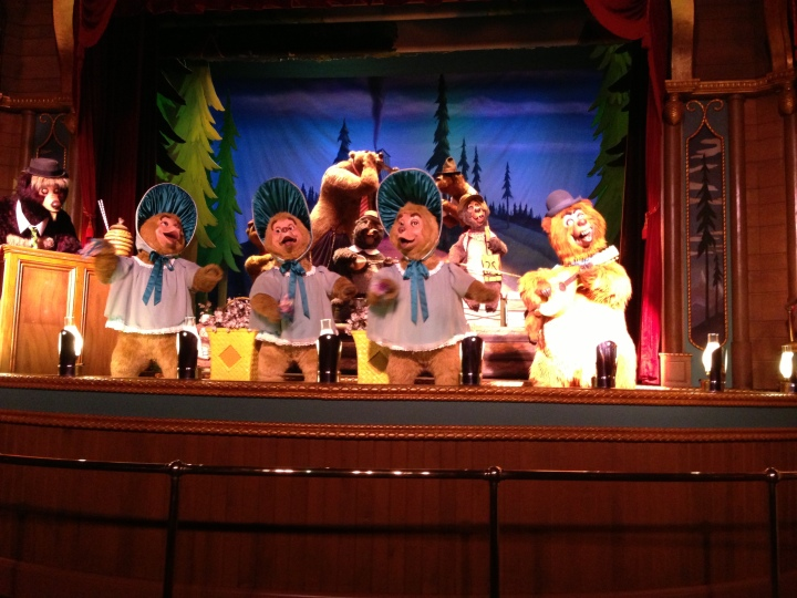 The Country Bear Jamboree from WDW