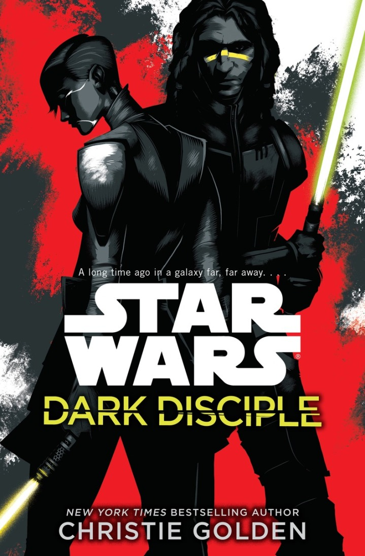 Cover for the new Star Wars novel - Dark Disciple