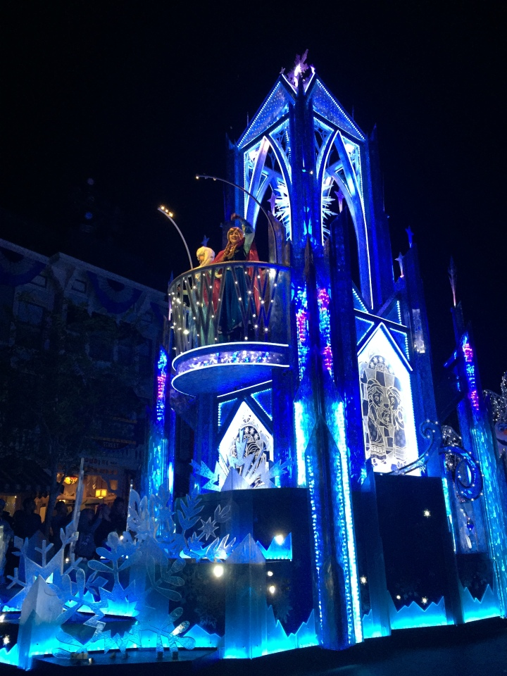 Elsa and Anna come