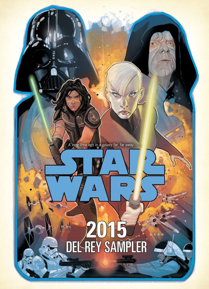 The Del Rey sampler features excerpts from every new Star Wars book since A New Dawn including Dark Disciple.  Available for FREE as a digital download