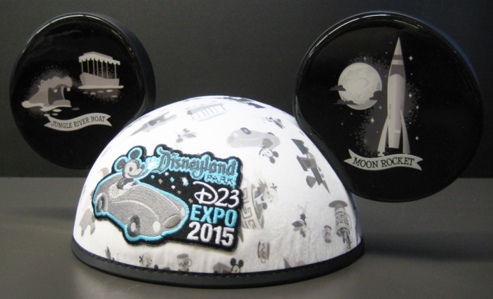 The D23 Expo ears hat available in the Dream Store