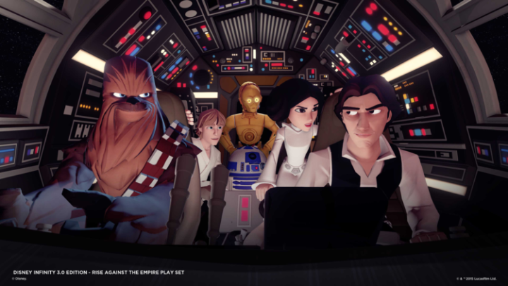 Star Wars enters Disney Infinity with the 3.0 release