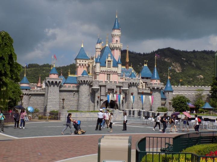 Sleeping Beauty Castle at Hong Kong Disneyland