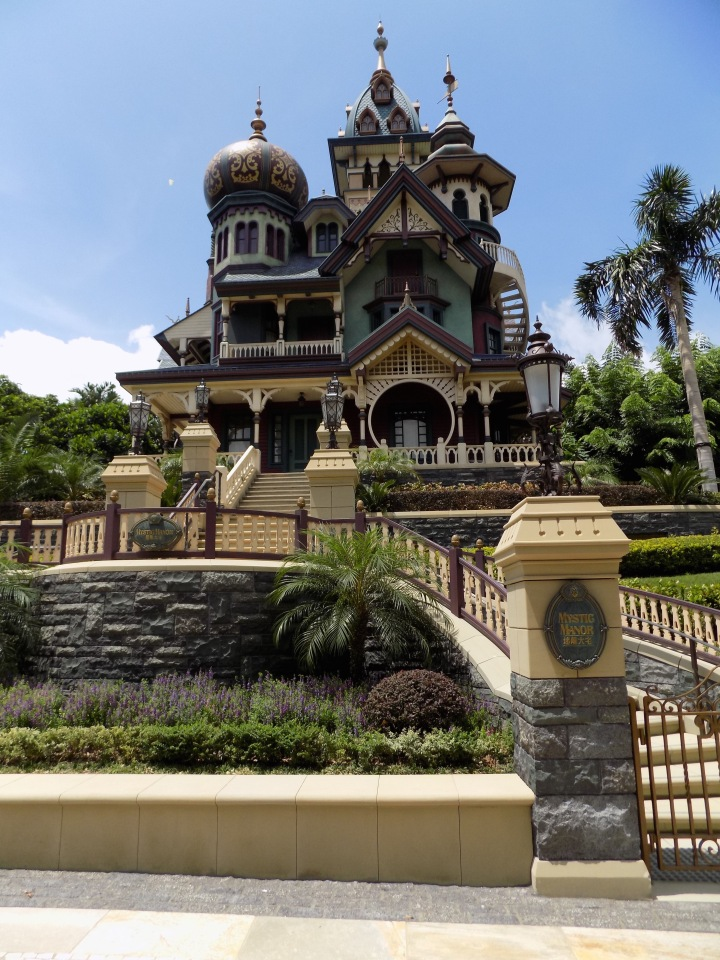 Mystic Manor - one of the attractions unique to HKDL
