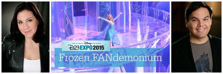 D23 presents Frozen FANdemonium on Sunday in the main Hall 23 arena
