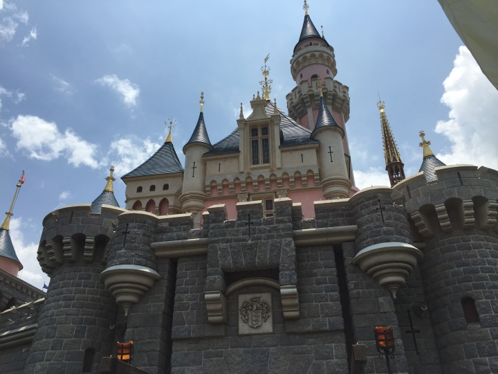Getting to go into Hong Kong Disneyland for free everyday was a pretty big perk