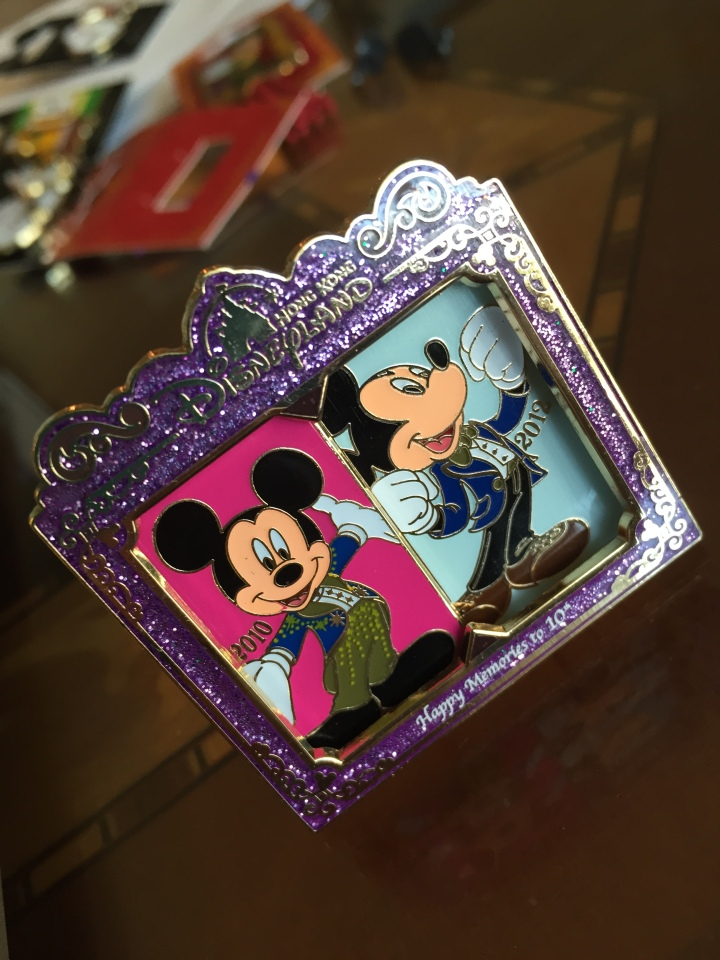 This incredible 10th anniversary HKDL LE 600 pin was readily available