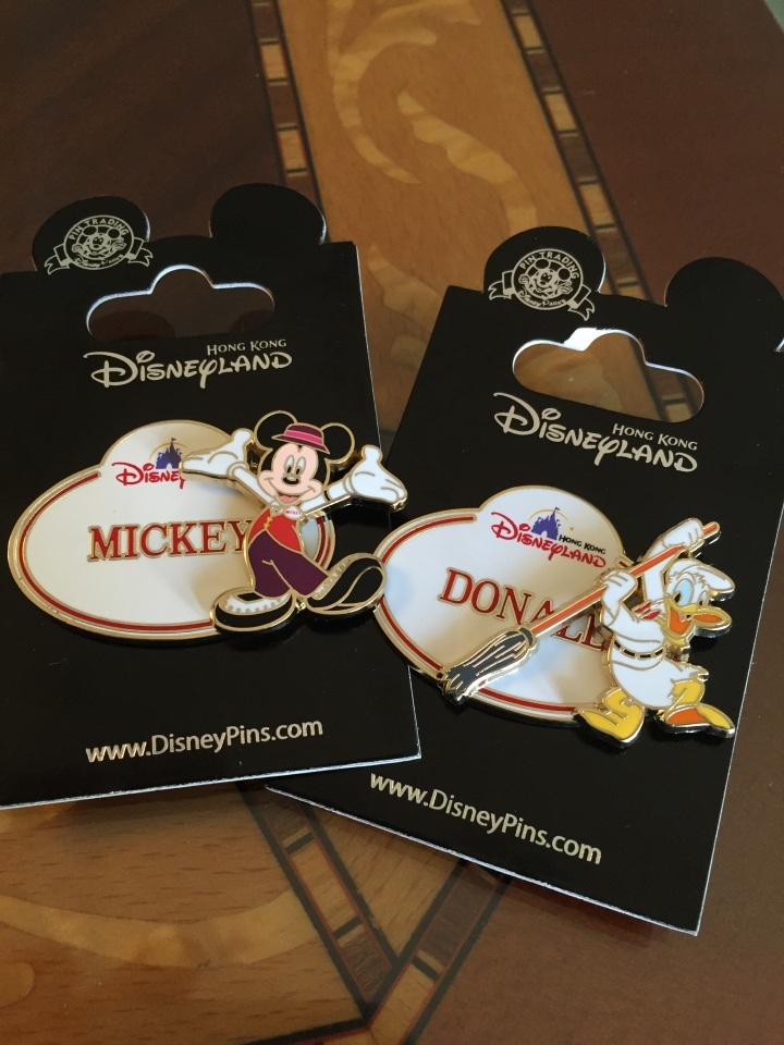 Just a couple of beautiful pins available only at HKDL