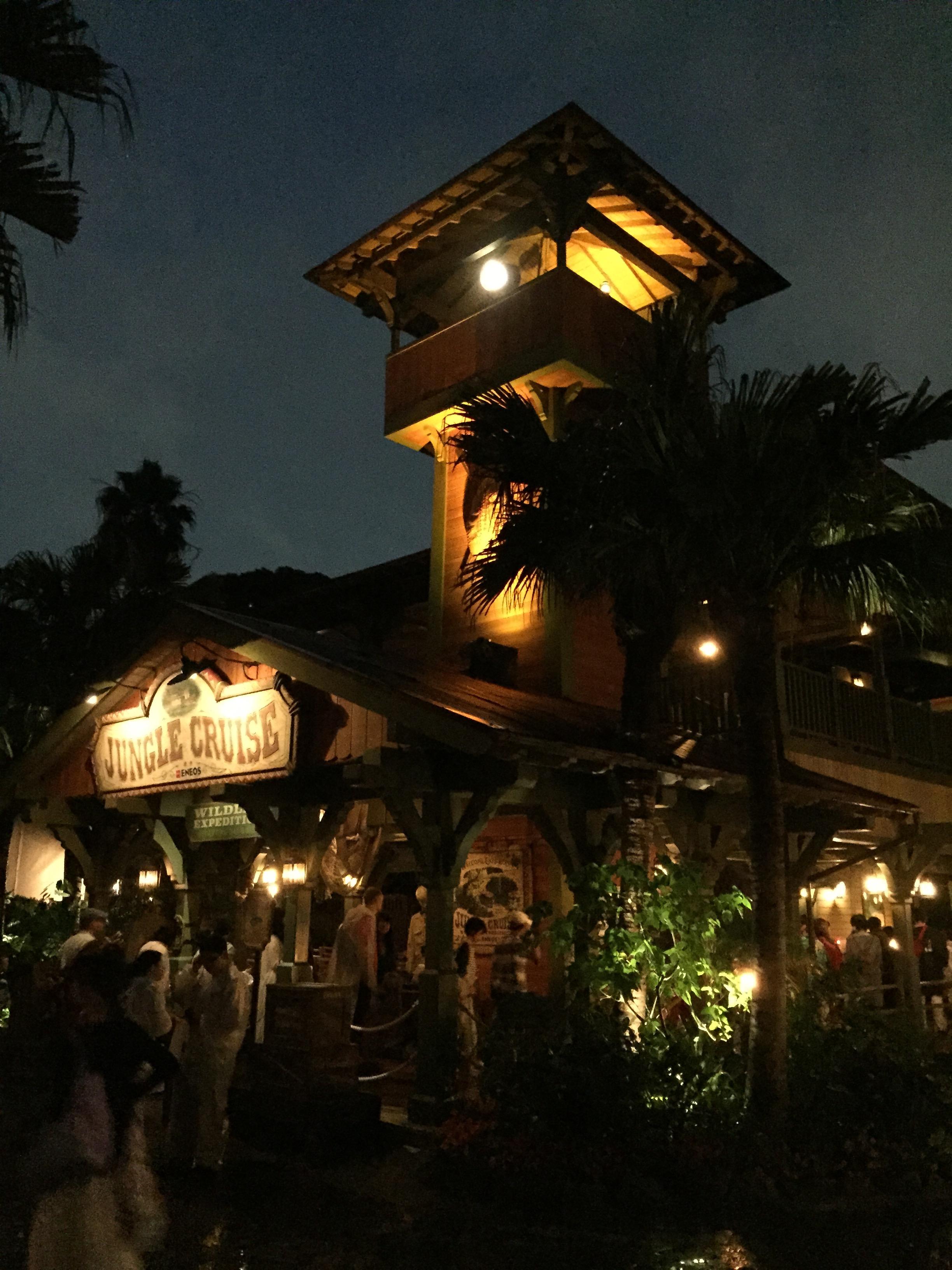 New Jungle Cruise Attraction At Tokyo Disneyland Lights