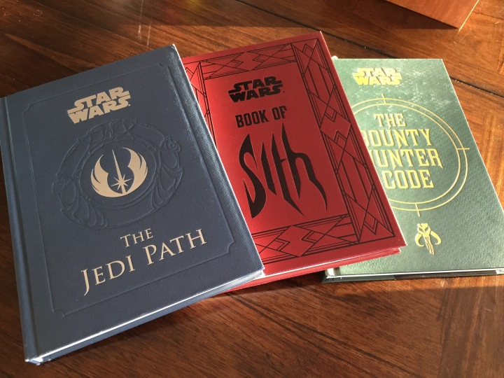 Currently three books in this fun and creative series meant for the serious Star Wars fan