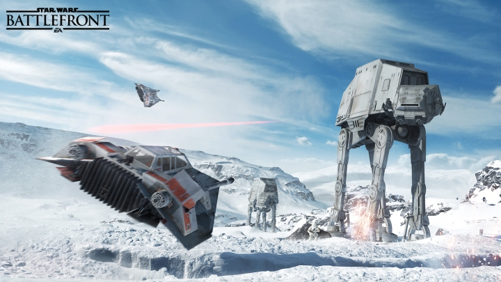 Star Wars Battlefront featured at the Disney Interactive pavilion along with Infinity 3.0 and other great games