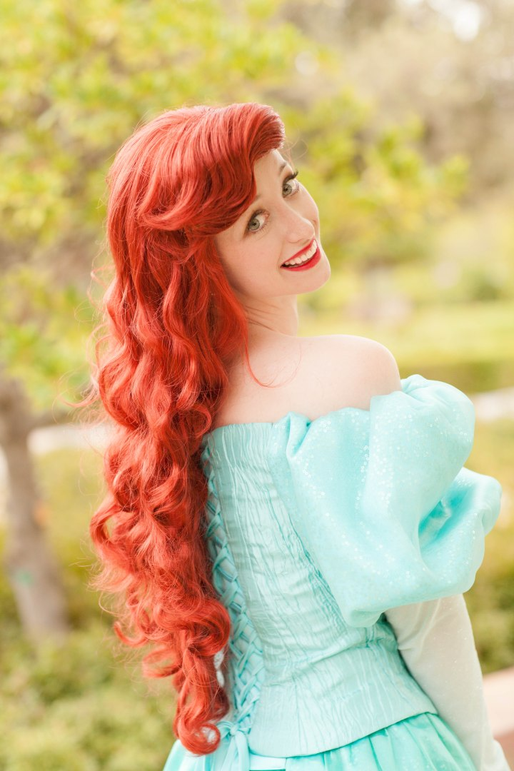 Cheyanne does such an amazing job as a princess, but Ariel is my favorite. Personal bias