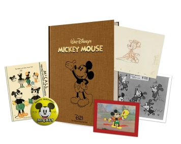 The 2018 Gold Membership Gift featuring Mickey Mouse