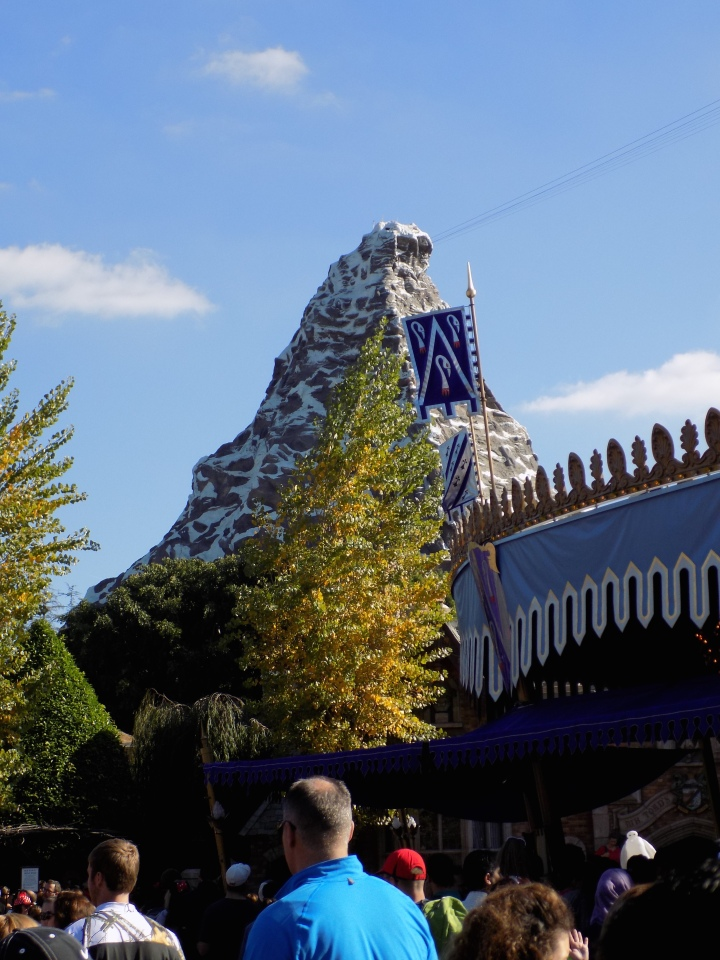 The newly refurbished Matterhorn with an all new Abominable Snowman inside