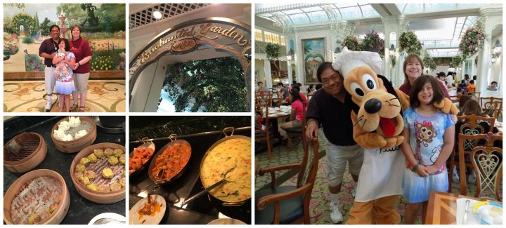 Our favorite restaurant at Hong Kong Disneyland wasn't at the park but in our hotel!