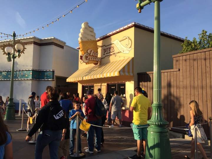 Paradise Pier Ice Cream Co - home to one of the best soft serves you can eat