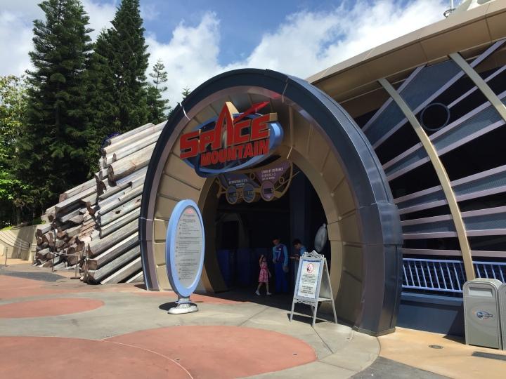 One of the rare rides with FastPass at Hong Kong Disneyland