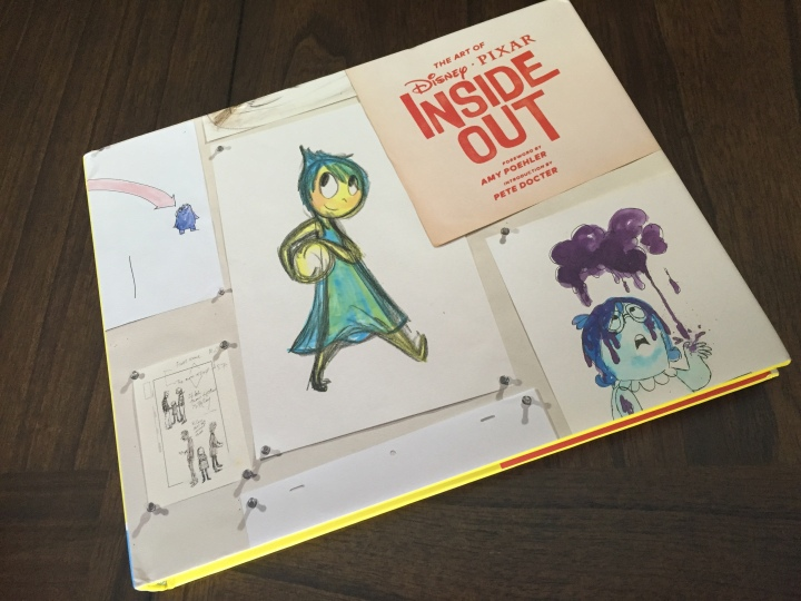 Cover to the book The Art of Inside Out published by Chronicle Books