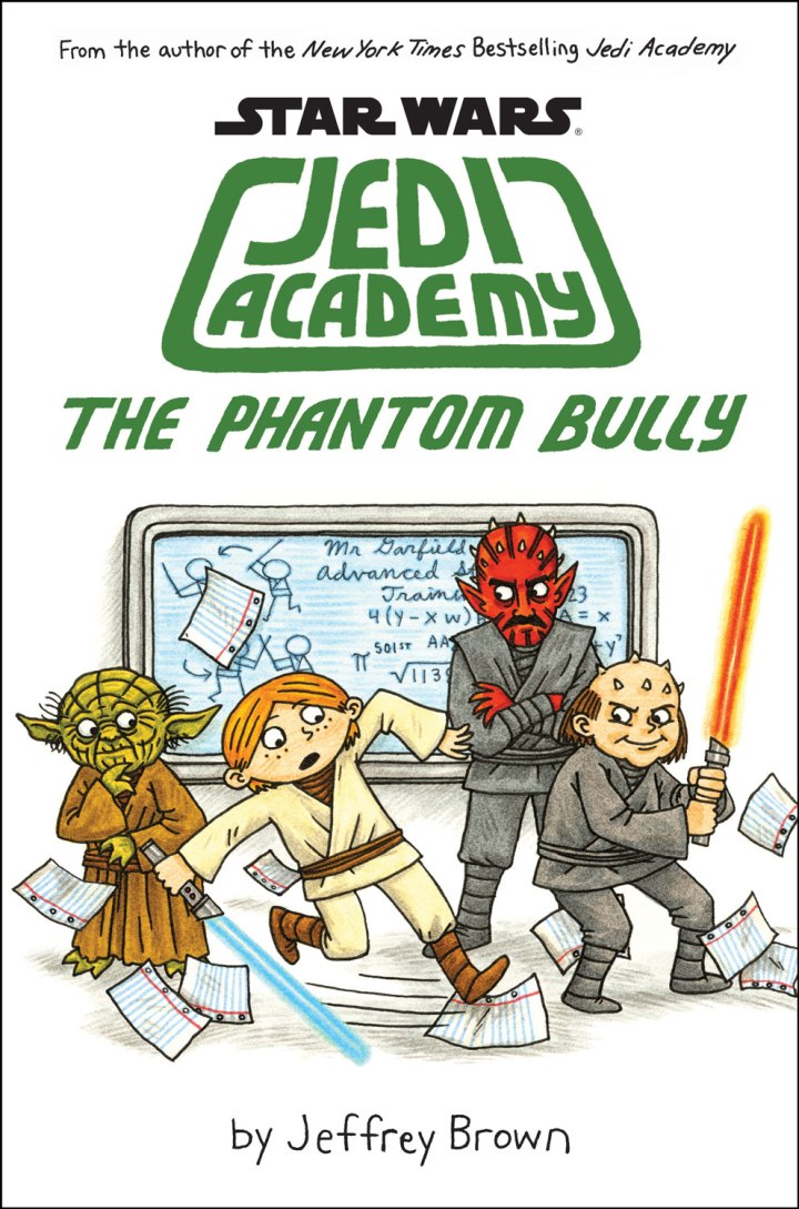 The cover of Jeffrey Brown's newest installment of Jedi Academy