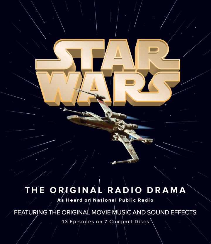 From the boxed set for Star Wars the Original Radio Drama