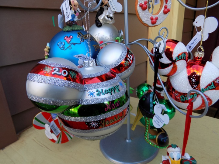 Something new I discovered last year in Frontierland - personalized ornaments