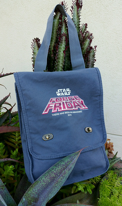Force Friday Messenger Bag for all pre-registered guests - pre-registration is closed