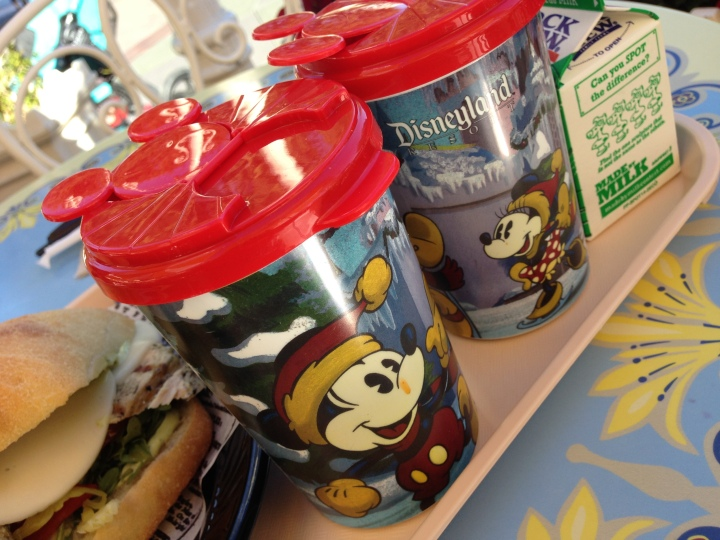 Always love the holidays at DIsneyland and these cups of hot tomato soup at Jolly Holiday were perfect last year