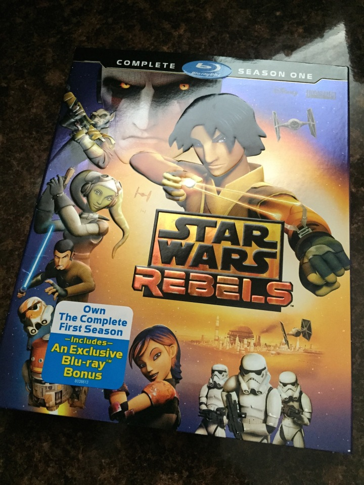 The complete season 1 BluRay of Star Wars Rebels