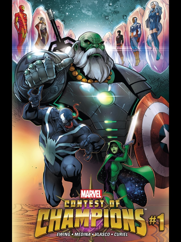 The cover to Contest of Champions (2015)