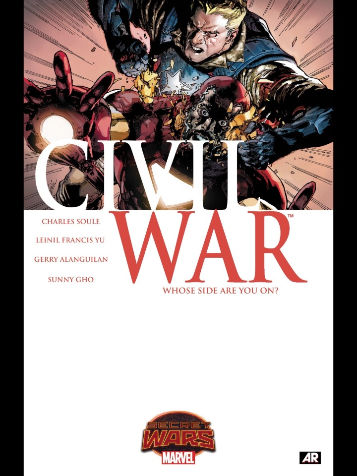The cover to Civil War (2015) #1
